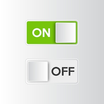 Icon ein- und ausschaltknopf.