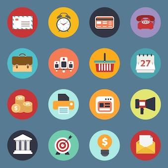 Icon-set für websites und mobile anwendungen