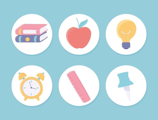 Icon-set schule
