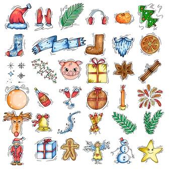 Icon weihnachtskalor