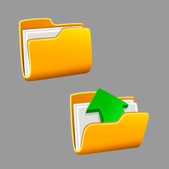 Icons ordner festgelegt
