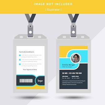 Id-karten-design