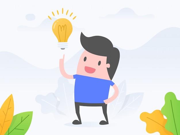 Idee und innovation.