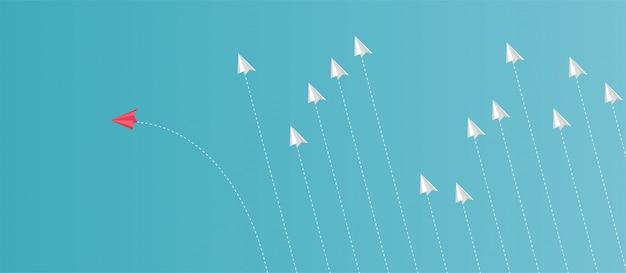 Ideen, die sich von anderen unterscheiden wie kein anderes flugzeug