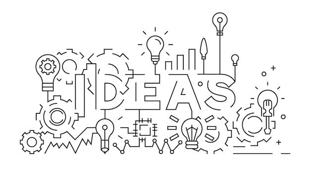Ideen-konzept
