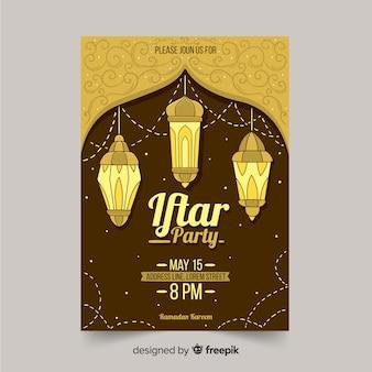 Iftar-einladungsparty