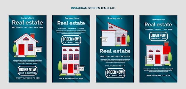 Ig-geschichten für gradientenimmobilien