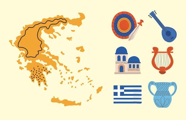 Ikonen der griechischen kultur