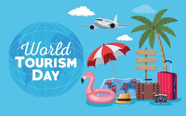 Ikonenszene des tourismustages