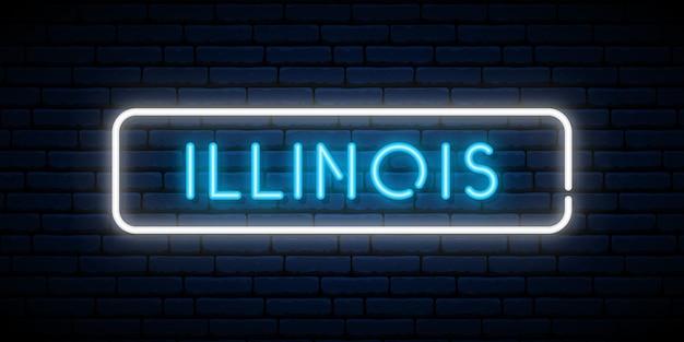 Illinois leuchtreklame