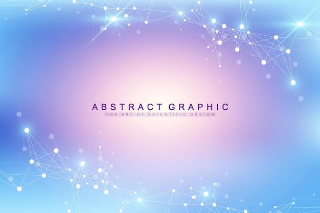 Illustration der big-data-visualisierung