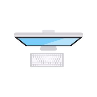 Illustration der computerikone