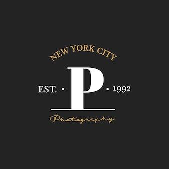 Illustration der fotostudio-stempelfahne