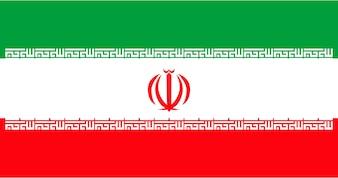 Illustration der Iran-Flagge