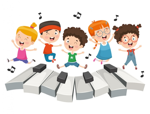 Illustration der kindermusik