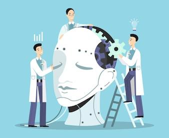 Illustration der künstlichen Intelligenz