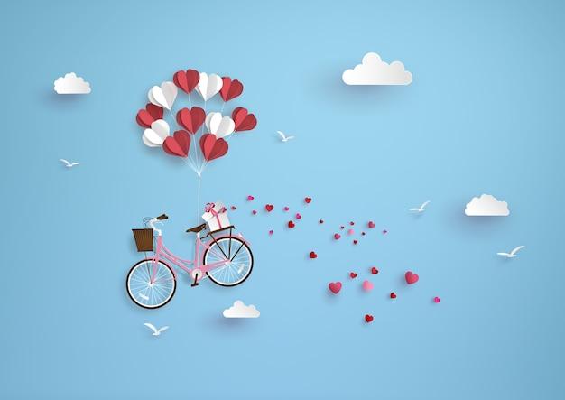 Illustration der liebe und valentinstag,
