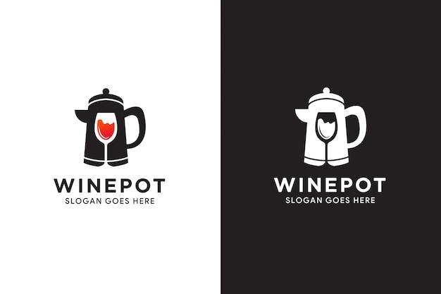 Illustration der logoschablone für shop oder gesunden lebensstil