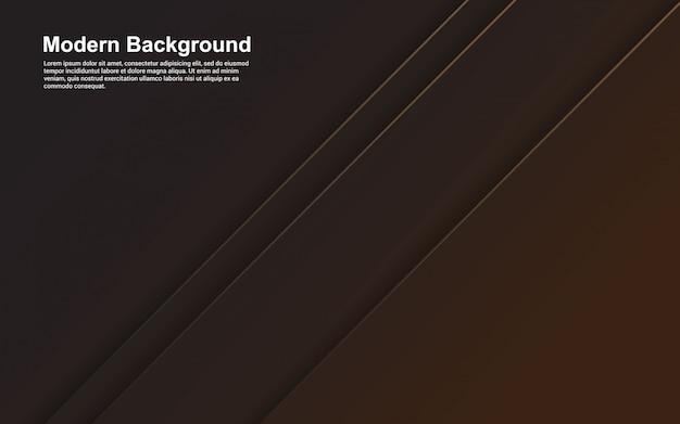 Illustration der schwarzen und braunen farbe des abstrakten hintergrunds