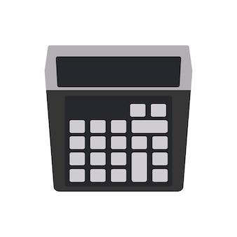 Illustration der taschenrechnermaschine