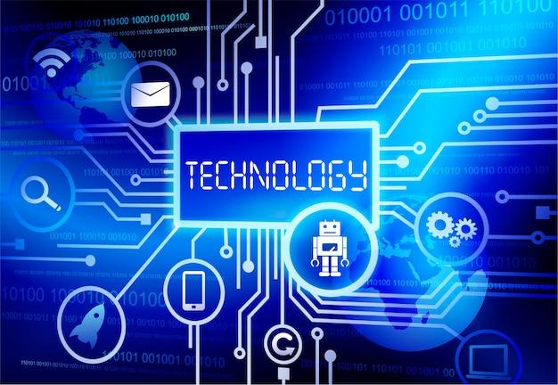 Illustration der technologie