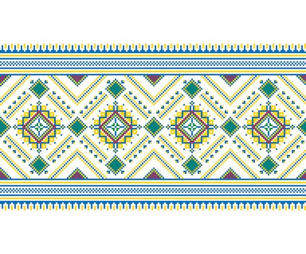 Illustration der ukrainischen nahtlosen muster ornament