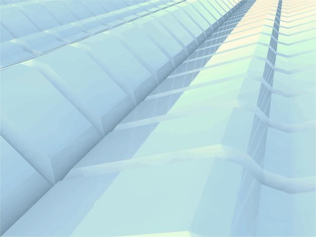 Illustration des abstrakten 3d-hintergrundes
