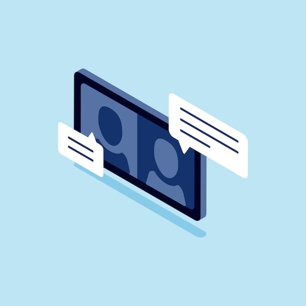 Illustration des chatrooms