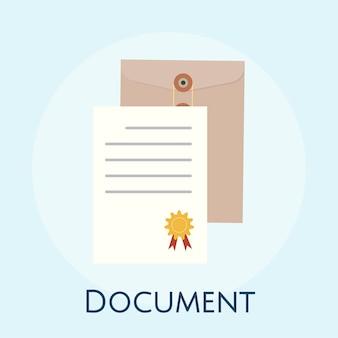 Illustration des geschäftsvereinbarungskonzeptes