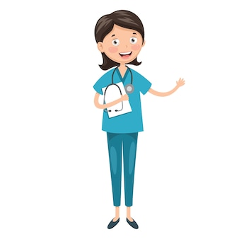 Illustration des gesundheitswesens und medizinisch