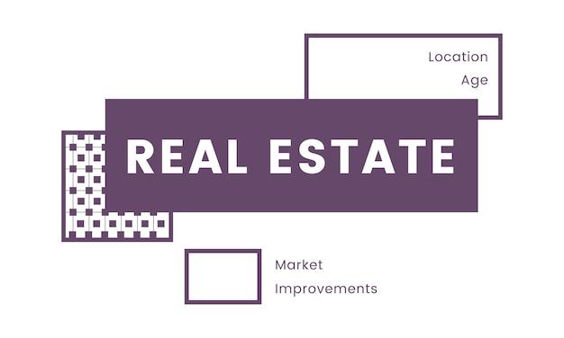 Illustration des immobilienkonzeptes