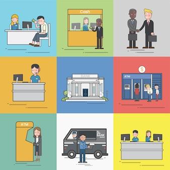 Illustration des kleinunternehmens