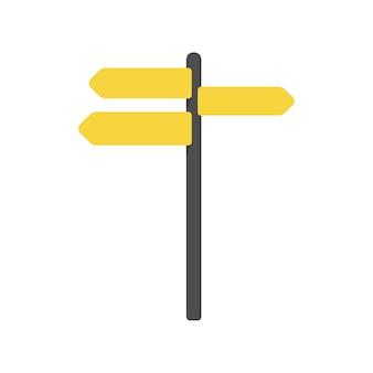 Illustration des leeren zeichenvektors