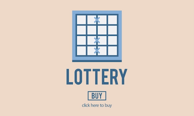 Illustration des lottospiels