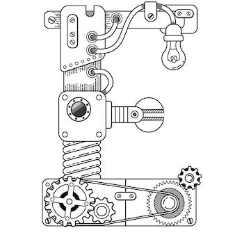 Illustration des malbuchs für erwachsene