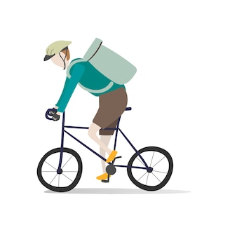 Illustration des menschlichen avatars mit umwelt