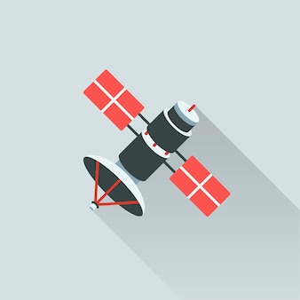 Illustration des satelliten