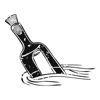 Illustration des sommer- und strandgegenstandes