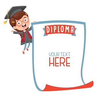Illustration des studenten