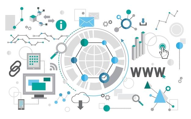 Illustration des webdesigns