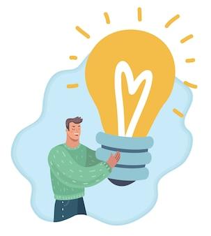 Illustration einer neuen idee