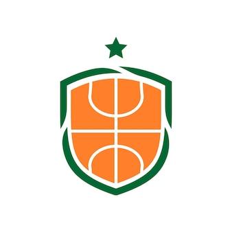 Illustration eines basketballs. gut für basketball-team-logo oder jedes geschäft im zusammenhang mit sport.