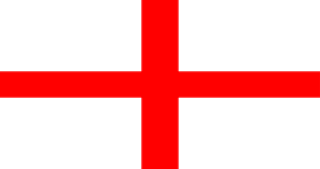 Illustration flagge von england