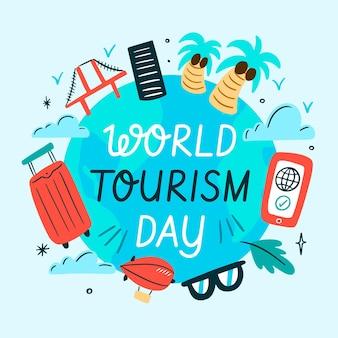 Illustration für tourismus-tagesereignis