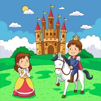 Illustration mit märchen