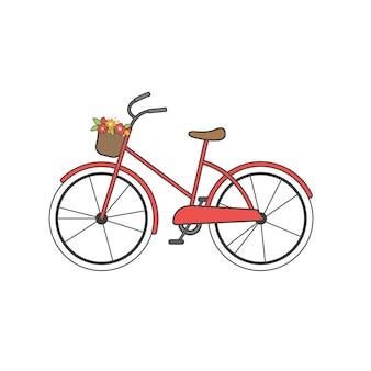 Illustration von fahrrad