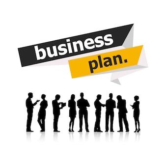 Illustration von Geschäftsleuten
