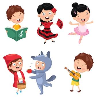 Illustration von kinder art