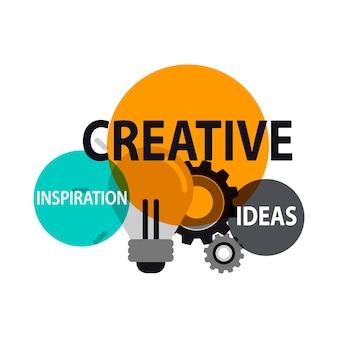 Illustration von kreativen ideen
