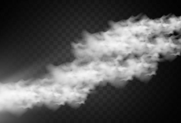 Illustration von nebel oder rauch